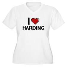 I Love Harding Plus Size T-Shirt