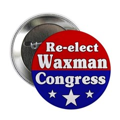 Re-elect Henry Waxman Button
