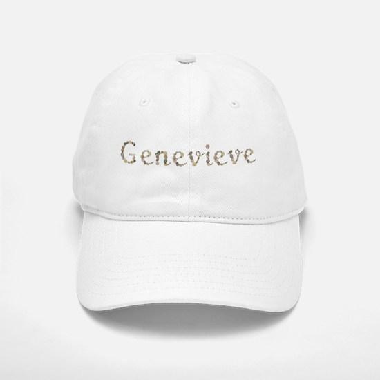 Genevieve Seashells Baseball Baseball Baseball Cap