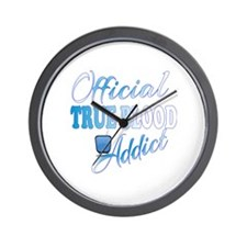 True Blood Addict  Wall Clock