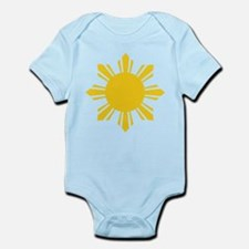 Philippines Flag Sun Body Suit