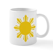 Philippines Flag Sun Mugs