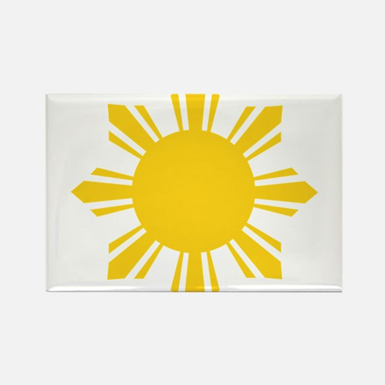 Philippines Flag Sun Magnets