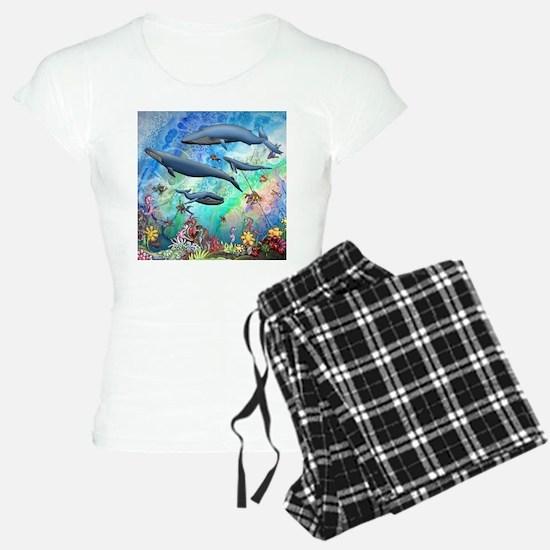 Whale pajamas
