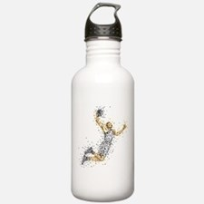 Basketball Player in B Water Bottle