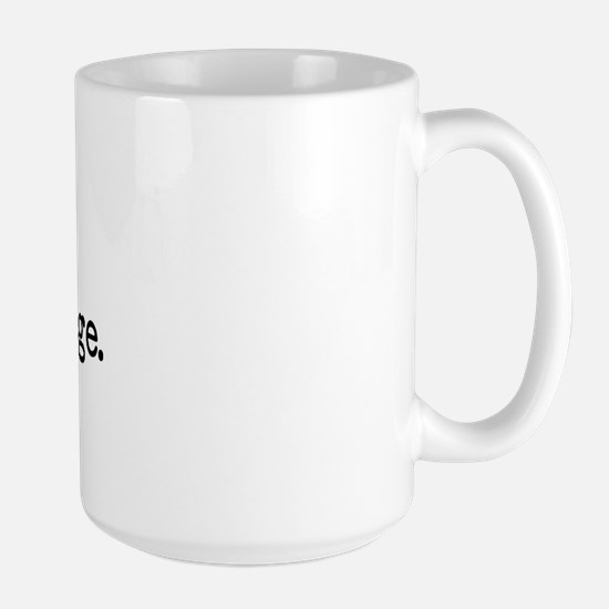 Your Mom Goes to College - Blk Large Mug