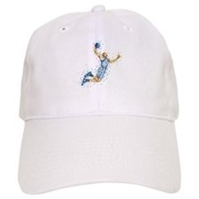Basketball Player in BLUE Uniform Baseball Baseball Cap