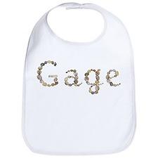 Gage Seashells Bib