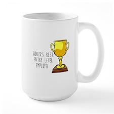 World's Best Entry Level Employee Mugs