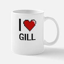 I Love Gill Mugs