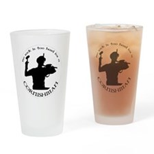 Funny Mineral Drinking Glass