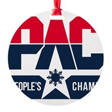 Pac People's Champ Ornament