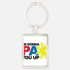 I'm Gonna PAC You Up Keychains