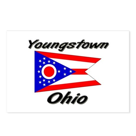 Youngstown Ohio Postcards (Package of 8)