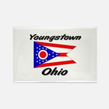 Youngstown Ohio Rectangle Magnet