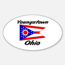 Youngstown Ohio Oval Decal