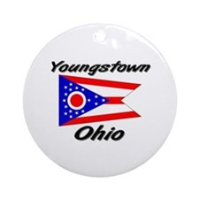 Youngstown Ohio Ornament (Round)