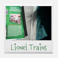 Lionel Trains. Toy Story Four. Tile Coaster