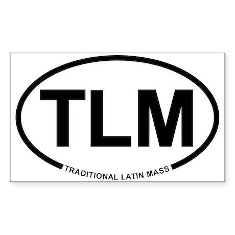 TLM Rectangle Sticker