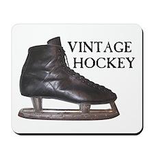 Vintage Hockey Skate Mousepad