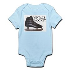 Vintage Hockey Skate Infant Bodysuit