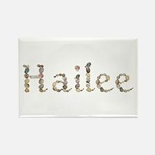 Hailee Seashells Rectangle Magnet
