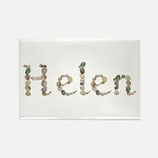 Helen Seashells Rectangle Magnet