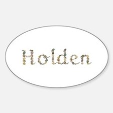 Holden Seashells Oval Decal