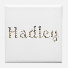 Hadley Seashells Tile Coaster