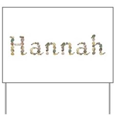 Hannah Seashells Yard Sign