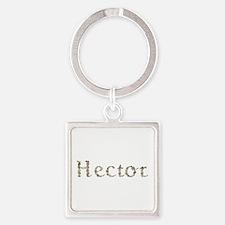 Hector Seashells Square Keychain