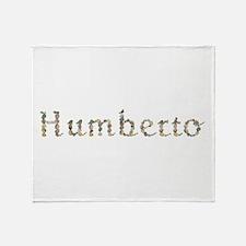 Humberto Seashells Throw Blanket