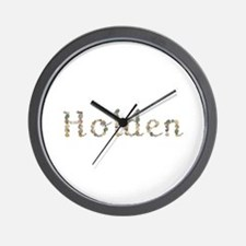 Holden Seashells Wall Clock