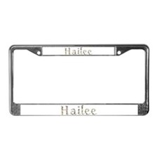 Hailee Seashells License Plate Frame