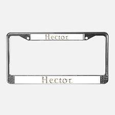 Hector Seashells License Plate Frame