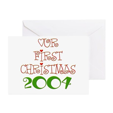 Our 1st Christmas Greeting Cards (Pk of 10)