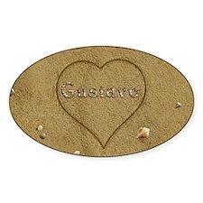 Gustavo Beach Love Decal