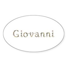 Giovanni Seashells Oval Decal
