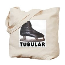 Tubular Hockey Skate Tote Bag