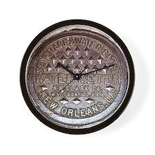 N.O. Water Meter Wall Clock