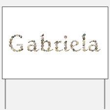 Gabriela Seashells Yard Sign