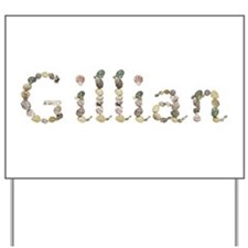 Gillian Seashells Yard Sign