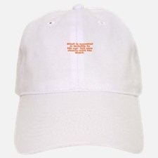 What is essential is invisibl Baseball Baseball Cap
