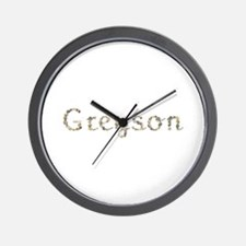 Greyson Seashells Wall Clock