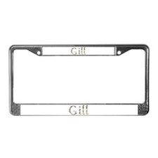 Gill Seashells License Plate Frame