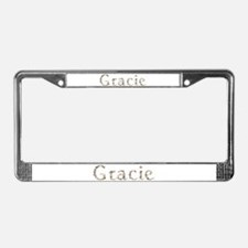 Gracie Seashells License Plate Frame