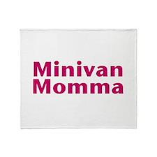 Minivan Momma Throw Blanket