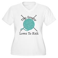 Granny Loves Knit T-Shirt