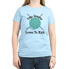 Granny Loves Knitting T-Shirt
