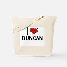 I Love Duncan Tote Bag